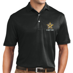 C-Batt Dad Dri Mesh Polo