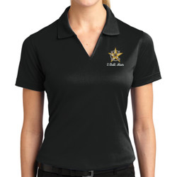 C-Batt Mom Dri Mesh V-Neck Polo