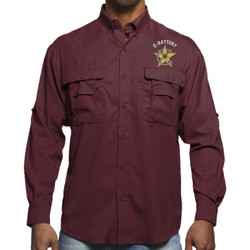 C-Batt L/S Performance Fishing Shirt